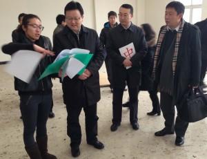 Benxi Mayor in NSB office